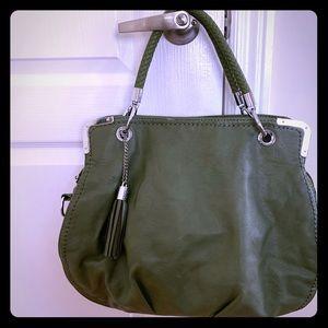 Beautiful green shoulder bag
